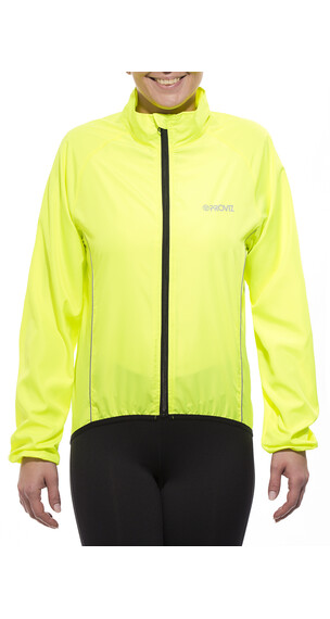 ProViz Windproof Jas geel
